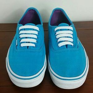 Vans Hawaiian blue